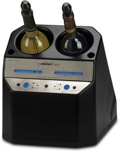 2-bottle wine chiller/warmer by Chambrer