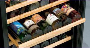 Danby 51 bottle 2-temp zone wine cooler-shelving