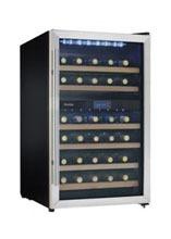 Danby 38 bottle wine cooler, dual zone, DWC113BLSDB