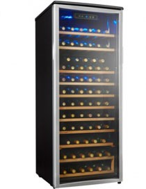 Danby 75 bottle wine refrigerator, DWC106A1BPDD