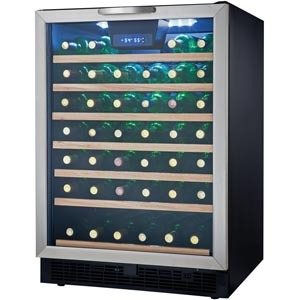 Danby DWC508BLS 50 bottle wine cooler
