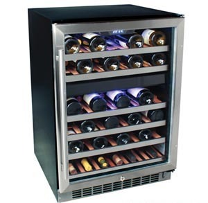 EdgeStar 46-Bottle dual-zone wine cooler, CWR460DZ