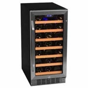 a mid-capacity EdgeStar wine cooler