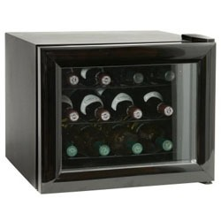 a 6-bottle countertop size unit