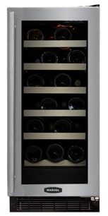 Slim Wine Cooler Refrigerators Ideal In Small Homes
