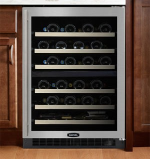 Compare Main Features Of Marvel And U Line 2 Zone Wine Coolers