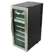 NewAir AW-211ED Dual Zone 21-Bottle wine cooler, freestanding