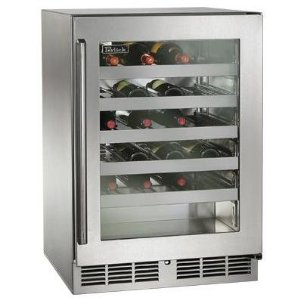 Perlick 45 bottle wine cooler, commercial grade