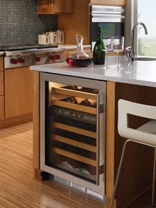 a subzero wine cellar for builtin use - Built In Wine Cooler
