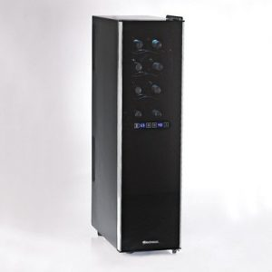 Wine Enthusiast 18 Bottle Wine Cooler Review Touchscreen