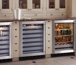 GE Monogram Built-In wine coolers