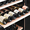 Slide Out Shelves of Amana Wine Coolers
