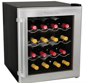 Koldfront/EdgeStar 16-bottle wine cooler, model TWR160S