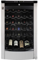 GE 29-bottle wine refrigerator, Model PWR04FANBS