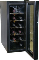 Haier 12 bottle wine cooler - Model HVW12ABB