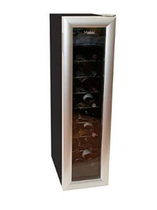 Haier 18-Bottle wine cooler, Model HVW18ABS