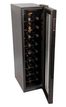 Haier 18 bottle wine cooler-interior