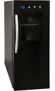 Haier 4-bottle wine cooler refrigerator