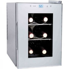 Haier HVTS06BSS 6 Bottle wine cooler