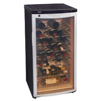 haier 30-bottle wine cooler, Model BC112G