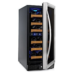 N'FINITY 23-Bottle Wine Cooler with two temperature zones