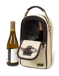 Picnis At Ascot Weekender 2-bottle wine cooler bag