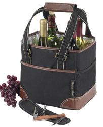 Picnic Wine Cooler Tote-4 bottles