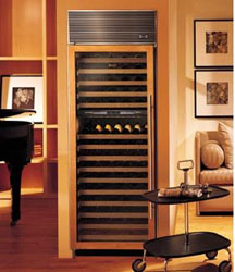 Sub zero 430 wine refrigerator, dual-zone, 147-bottle capacity