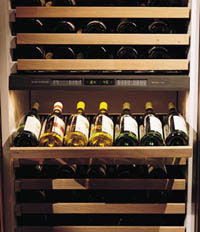 Sub zero 430 wine cooler-shelving