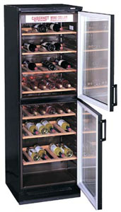 Summit SWC1775 120-bottle Dual-Zone Wine Refrigerator, Freestanding/Built-In