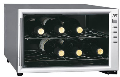 Sunpentown WC08 8-bottle countertop wine cooler