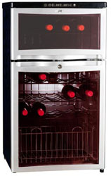 Sunpentown dual Zone Wine Cooler WC-28D