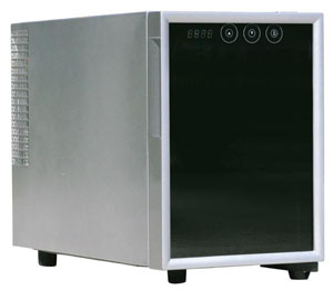 Sunpentown WC-06 6-Bottle wine refrigerator