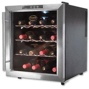 Vinotemp 16-bottleWine Cooler, Model VT-16TEDS